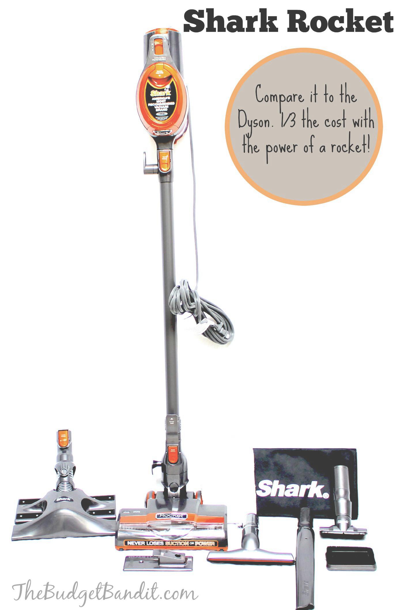 Shark Rocket Versus Dyson Vacuum Review