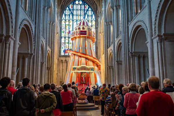 Controversial Attractions Boost Visits To English Cathedrals