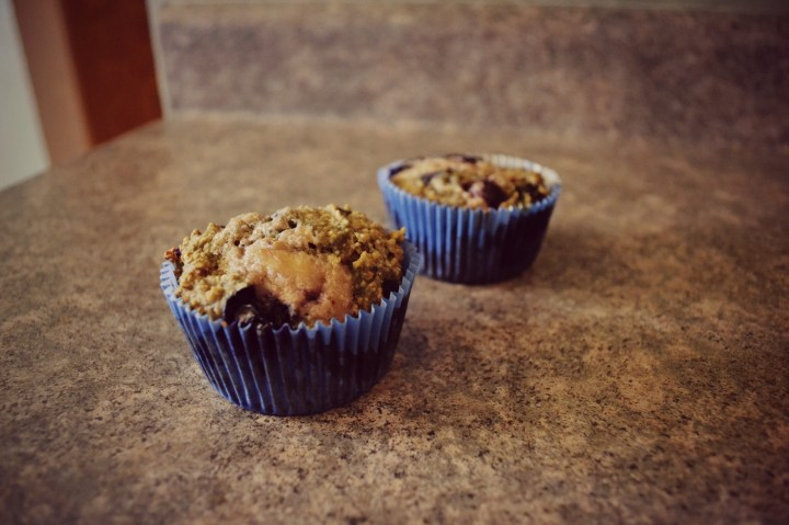 blueberry muffins blue lining