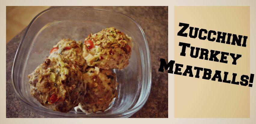 Zucchini Turkey Meatballs