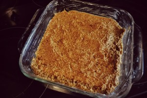 pumpkin bar batter