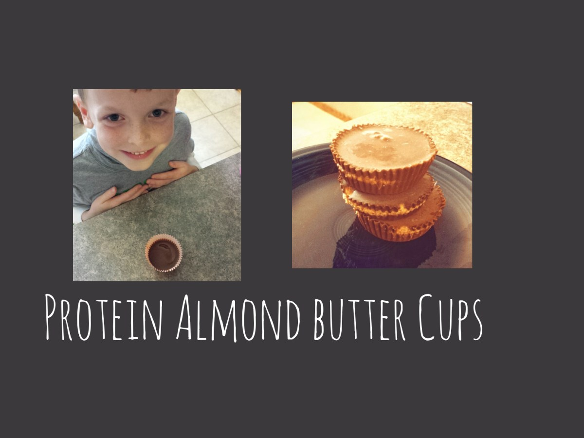 """Healthier"" Protein Almond Butter Cups"