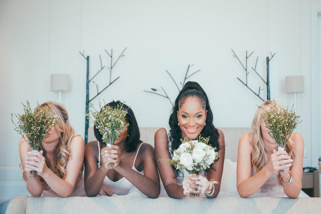 bride with vitiligo