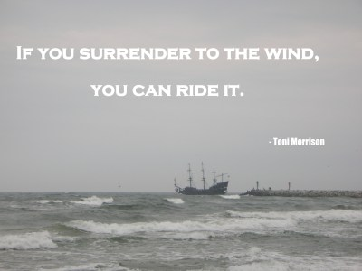 surrender to the wind