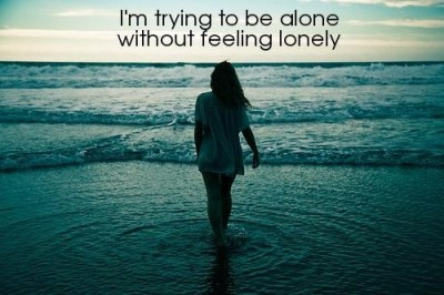 alone lonely