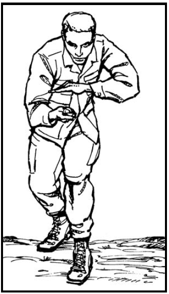Knife Fighter's Stance