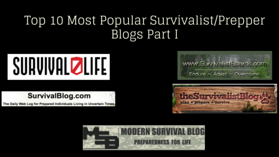 Top 10 Most Popular Survivalist_Prepper