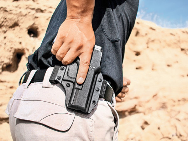 Learning To Draw Your Gun From A Holster Like a Pro