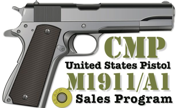 8,000 CMP M1911/A1 Available Via Government Auction