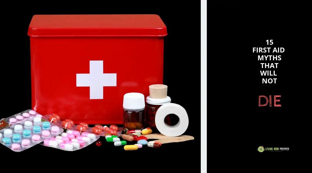 15 First Aid Myths