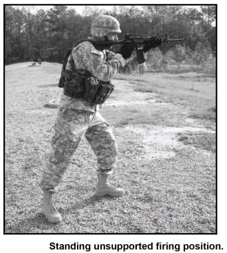 Athletic Standing Shooting Stance