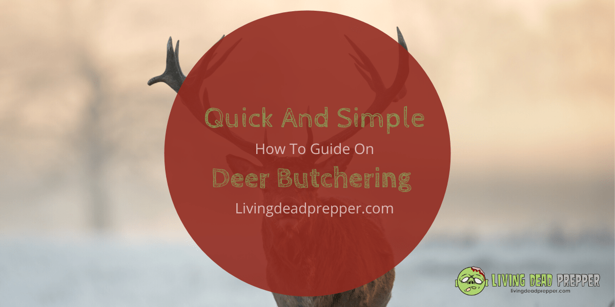 Quick and Simple, How To, Deer Butchering Guide