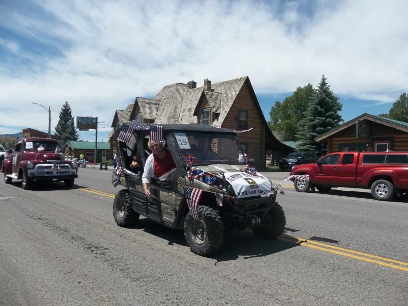 July 4 parade Dubois WY