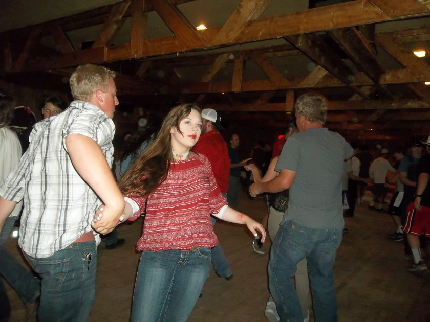 Square dance Dubois WY July 4 2017