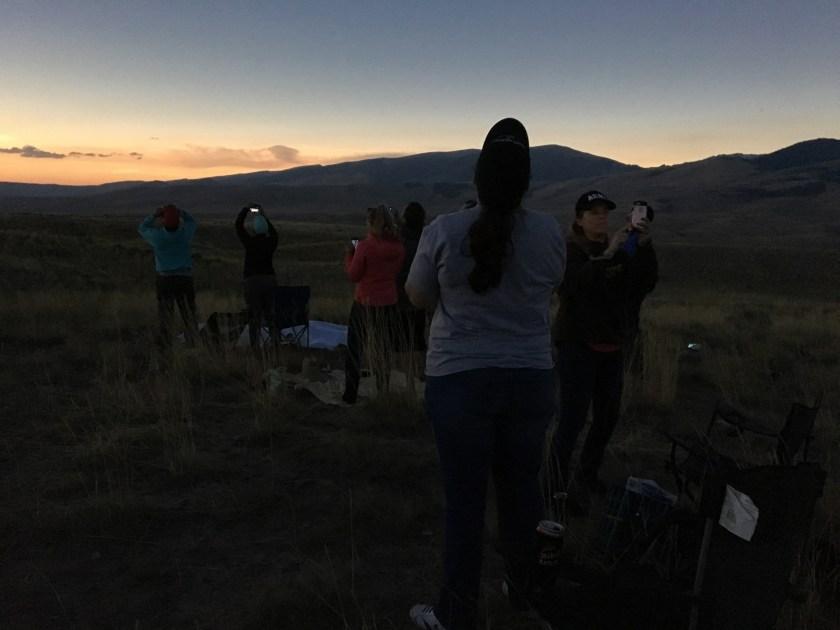 Dubois WY total eclipse 2017