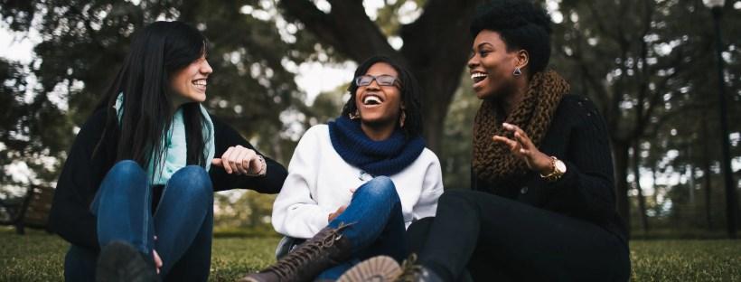 three friends having a gospel conversation