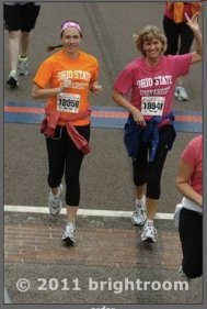 Love doing half marathons with my supportive, encouraging mom!