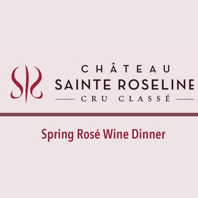 Spring Rose Wine Dinner at Chanson at Royal Blues Hotel