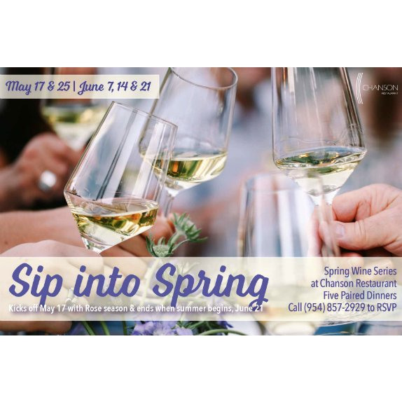 Sip into Spring Wine Series