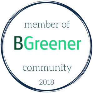 BGreener Member 2018