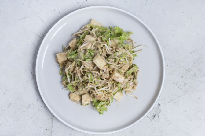 Gado-Gado (Steamed Veggies, Potato, Tofu, Tempeh, Peanut sauce)