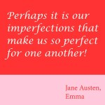 Thursday Thoughts: Our Imperfections