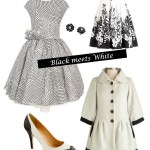 Crisp and Classy: Black meets White