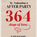 Thursday Thought: 364 days of love