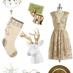 dreaming of a white (and gold) christmas