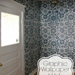 graphic wallpaper look for less