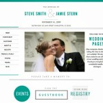 beautiful wedding websites