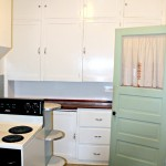 our small kitchen – before