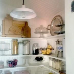 pantry renovation