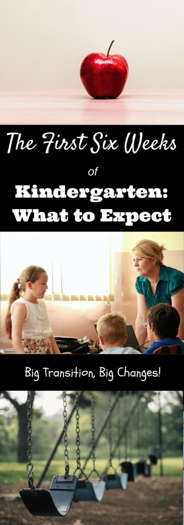 Adjusting to Kindergarten