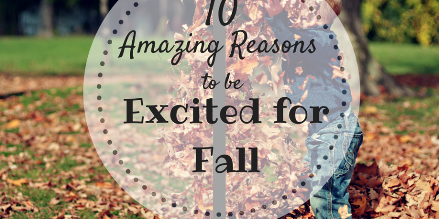 Get Excited for Fall