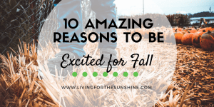 Amazing reasons to be excited for fall