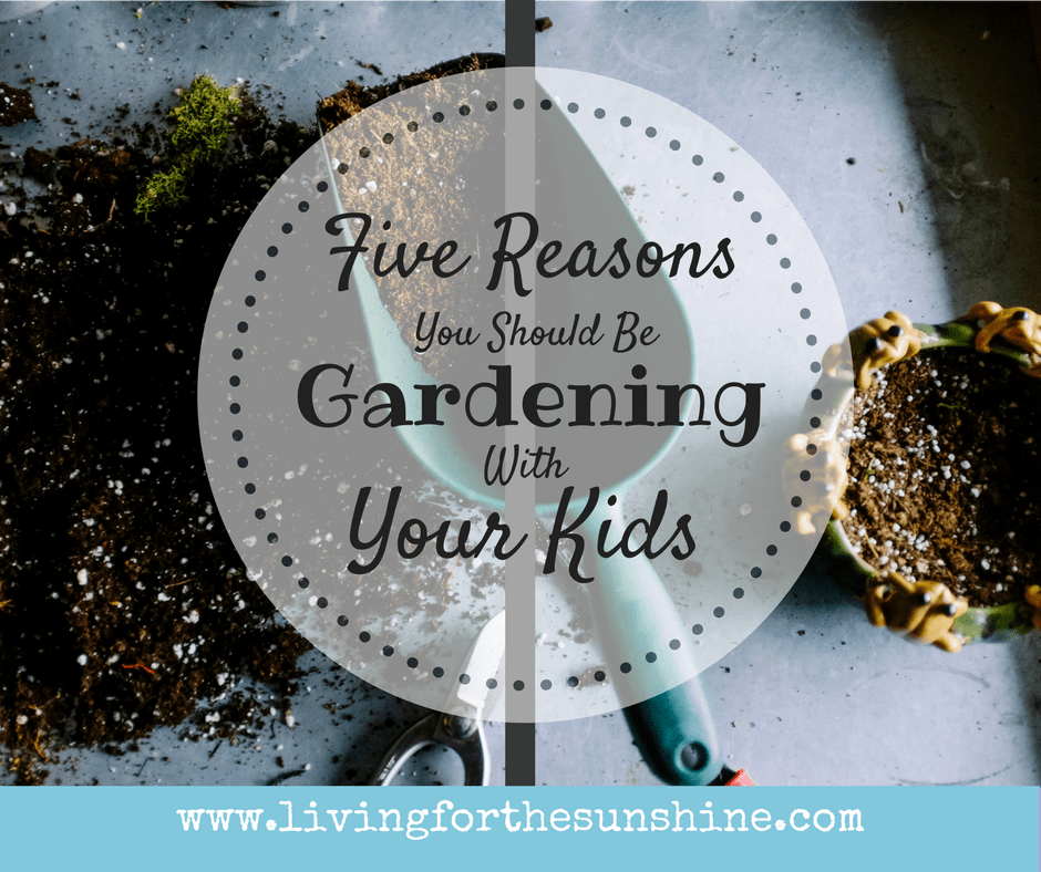 5 Reasons You Should be Gardening With Your Kids