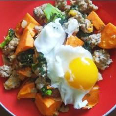 Delicious Sweet Potato Hash