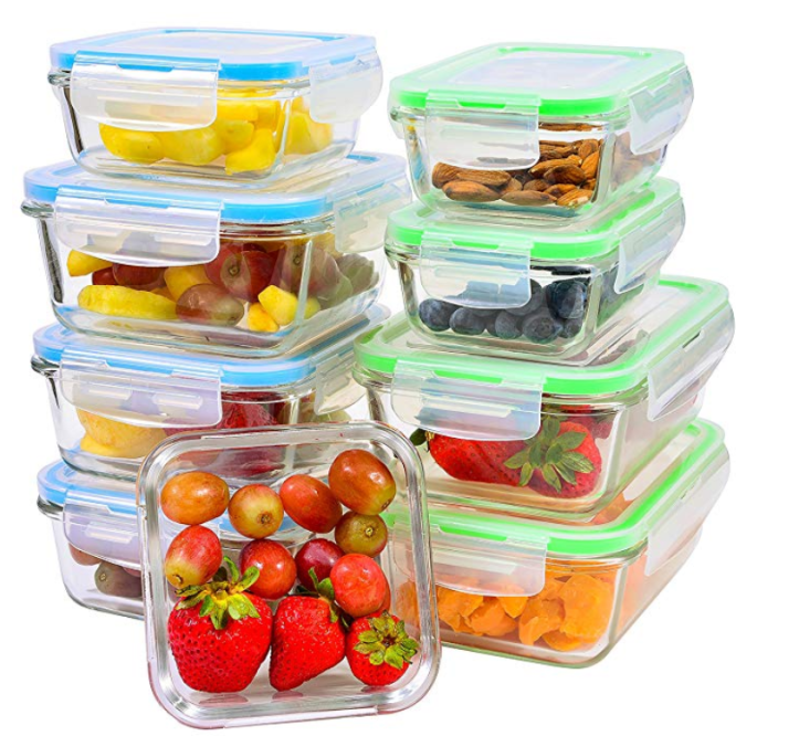 best gifts for fitness enthusiasts, meal prep containers