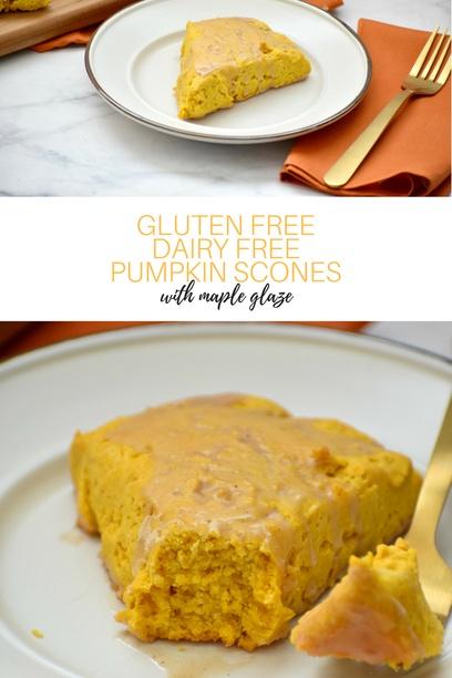 Gluten Free Pumpkin Scones PIN