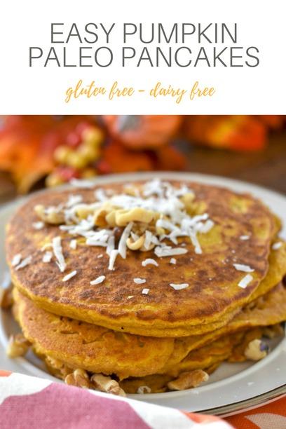 PIN Paleo Pumpkin Pancakes