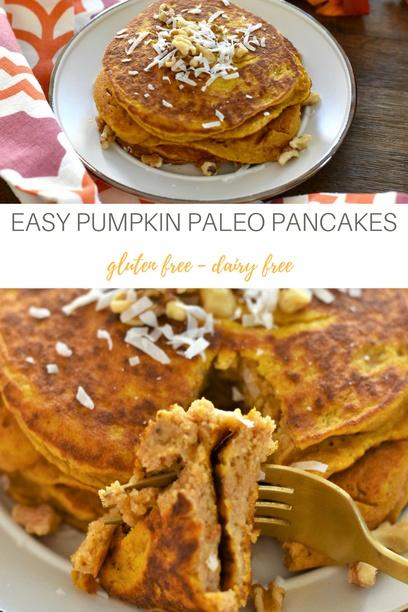 PIN Pumpkin pancakes