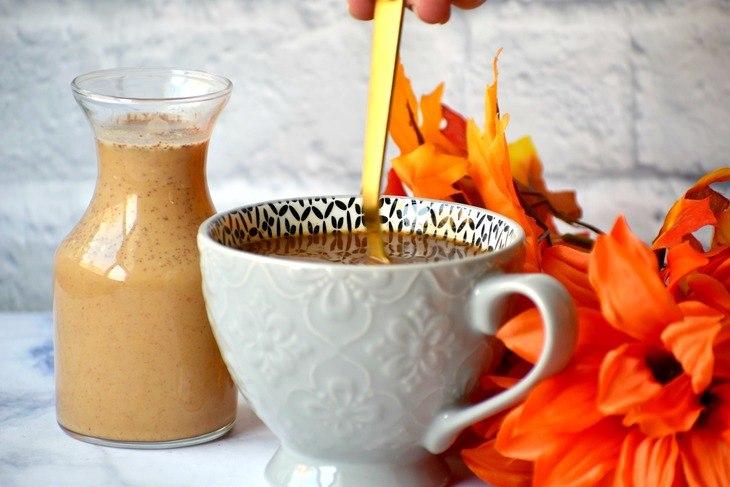 Vegan Pumpkin Spice Coffee Creamer