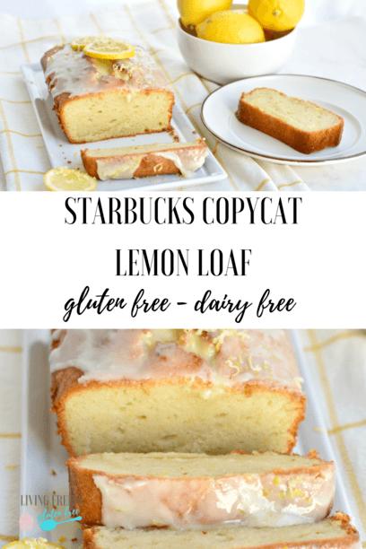 gluten free lemon pound cake image for pinterest