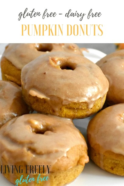 PIN for Pumpkin Gluten Free Baked Donuts