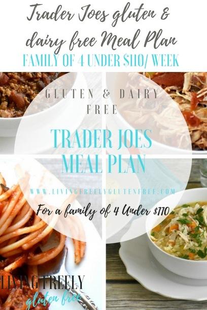 Trader Joes gluten free meal plan