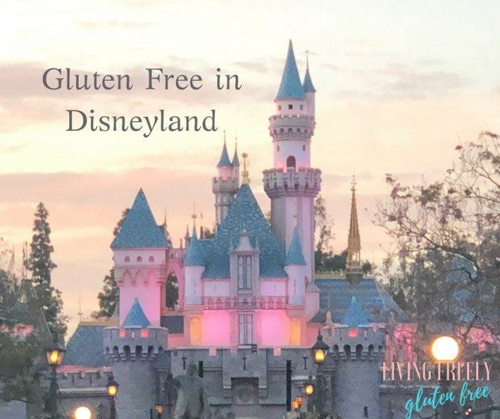 Gluten Free In Disneyland Living Freely Gluten Free