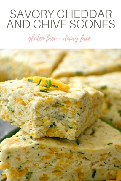 Pin for Savory Cheddar and Chive Scones