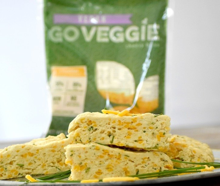 Scones with go Veggie Bag of Cheese