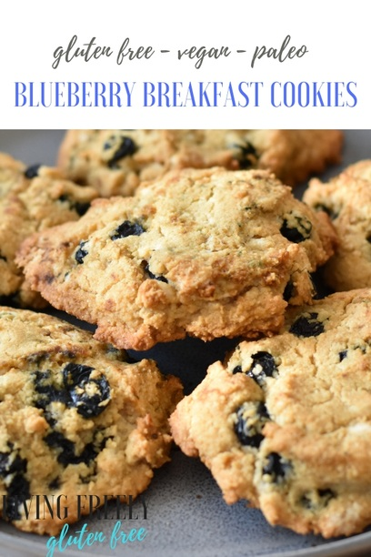 Pin now Easy Blueberry Breakfast Cookies